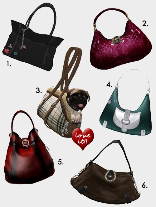 Second Life Purses